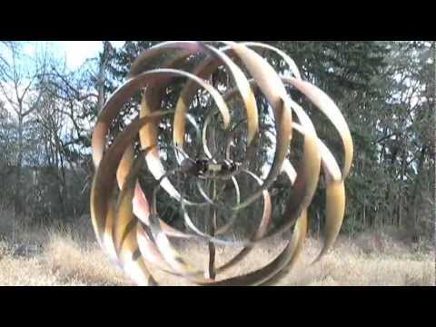 Kinetic Garden Wind Spinners Solutions Com Youtube