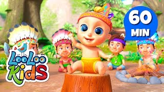 Ten Little Indians - Great Songs for Children | LooLoo Kids