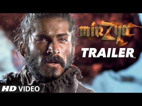 Mirzya Official Trailer | Harshvardhan Kapoor | Saiyami Kher | Gulzar | Rakeysh Omprakash Mehra