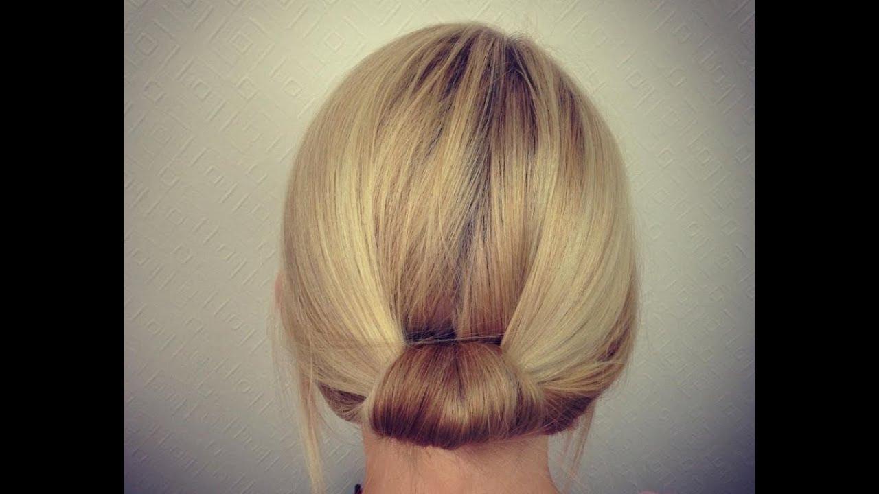 Easy Bridal Work Updo For Short To Medium Hair Youtube