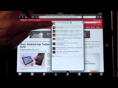 Play Flash Video On iPad - Skyfire Web Browser.flv