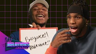 Ar'mon & Trey Find Out How Well They Know Each Other | Artist Relations