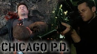 Man Hunt Gets Dawson Shot | Chicago P.D.