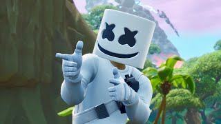 Marshmello Claps Back At Major Lazer - (Fortnite Short Film)