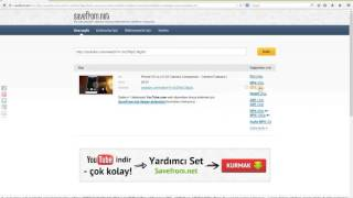 Youtube Video İndir (PROGRAMSIZ)