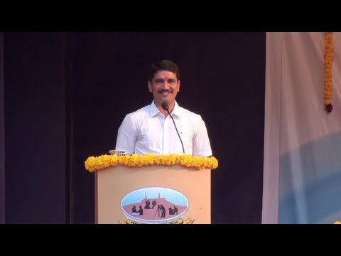 Vishwas Nangare Patil Speech Part 1 video