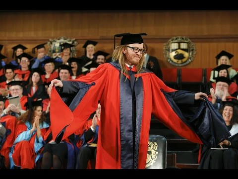 Tim Minchin Occasional Address and Honorary Degree of Doctor of Letters