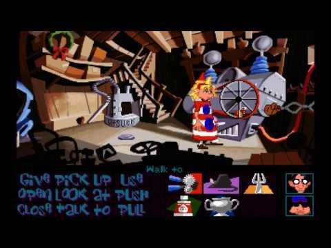 Day of the Tentacle (1993) Full playthrough