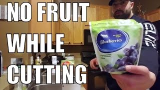 NO FRUIT WHILE CUTTING?
