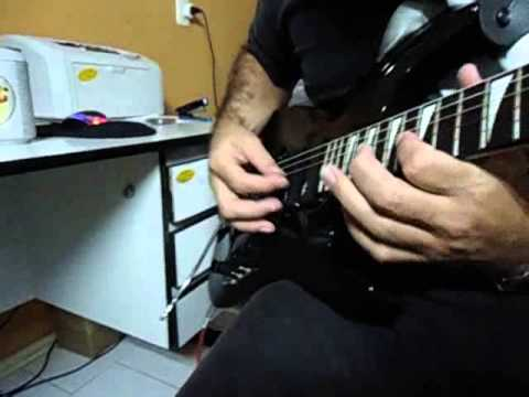 TEST Guitar Vester II Maniac Series - Guitar Heavy in E Dark House - By MvGuitars