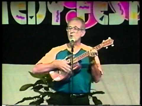 Guyana's Dave Martins of The Tradewinds live at 1996 Spectacula Caribbean Comedy Festival