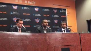 Dudley perfect fit with Suns press conference 7-8-2016