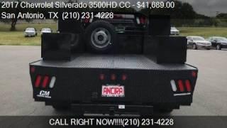 2017 Chevrolet Silverado 3500HD CC Work Truck 4x4 4dr Crew C