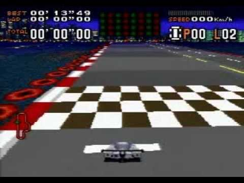 Tero beats SNES F1 ROC 2 Race of Champions Part 1
