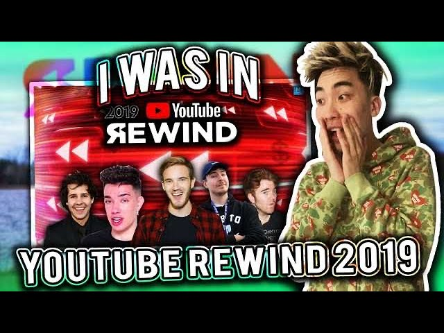 Reacting to 2019 YouTube Rewind (THEY FINALLY PUT ME IN IT) thumbnail