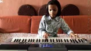 download lagu Babuji Dheere Chalna Played On Keyboard By Radha  gratis