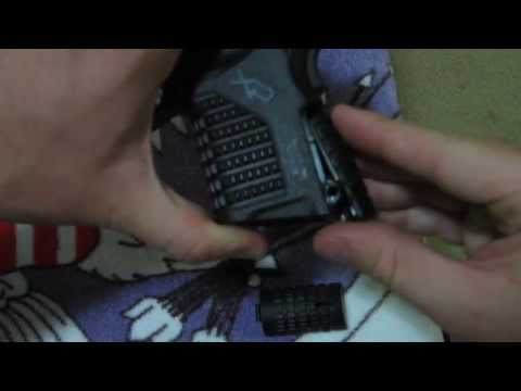 how to - change backstrap on SPRINGFIELD ARMORY XDs 45acp