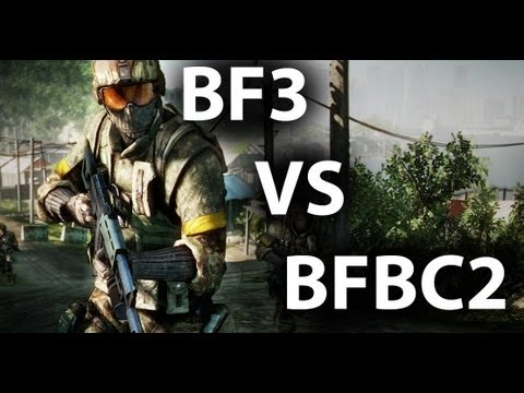 BFBC2 VS BF3 | Le retour | Mon avis