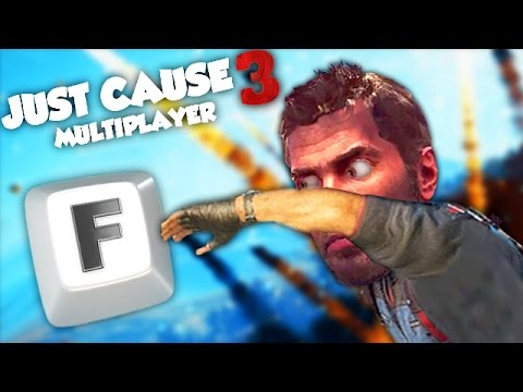 N'APPUIE PAS SUR CE BOUTON ! (JUST CAUSE 3 Multiplayer Fun)