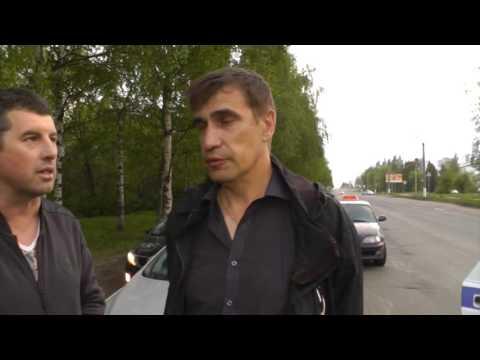 ДТП на Ленина, пьяный полковник УФСИН. Место происшествия 23.05.2016