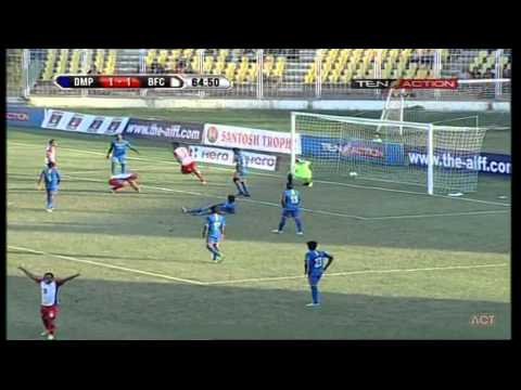 Hero Fed Cup 2014 - 2015 Dempo SC (1) vs Bengaluru FC (2) 11-01-2015