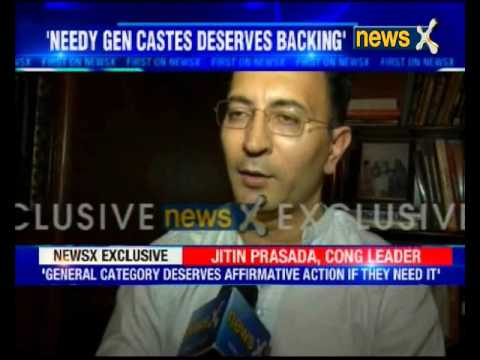 NewsX exclusive interview with Congress leader Jitin Prasada