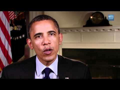 Weekly Address from US-President Obama:
