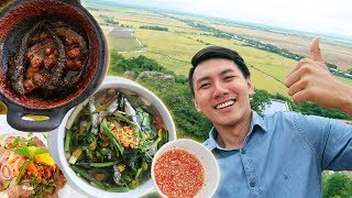DINNER ON THE SAM MOUNTAIN TOP | Chau Doc, An Giang travel