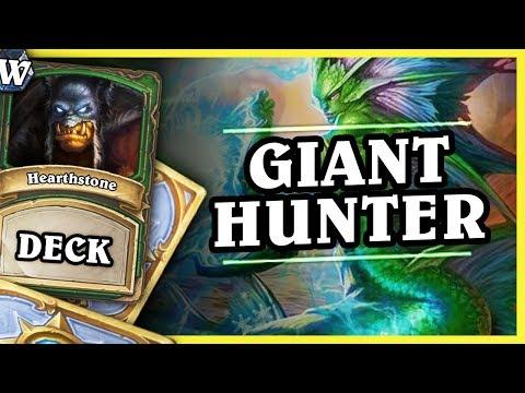 GIANT HUNTER - Hearthstone Deck Wild (KotFT)