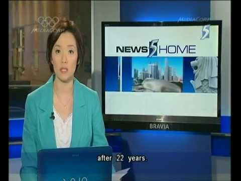 Singapore Channel 5 News 9.30PM @ 21-04-2012