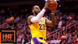 Los Angeles Lakers vs Houston Rockets 1st Half Highlights | 12.13.2018, NBA Season