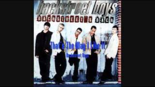 Watch Backstreet Boys Thats The Way I Like It video