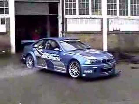 BMW M3 GTR Video