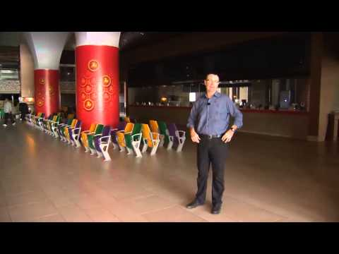Singapore Profiles - Singapore Turf Club Tour with Race Caller Craig Evans
