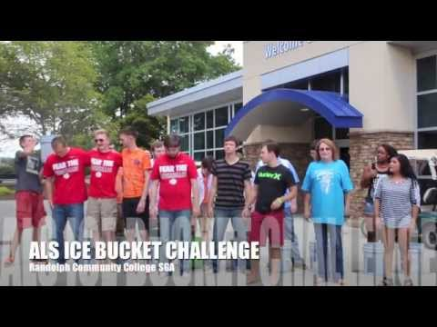 Randolph Community College SGA Ice Bucket Challenge