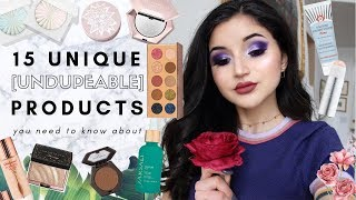 15 UNIQUE + UNDERRATED MAKEUP PRODUCTS i'm kinda obsessed with