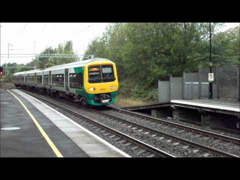 Trains at Smethwick Galton Bridge train station (Low Level) on 7/9/11 (Part 1)