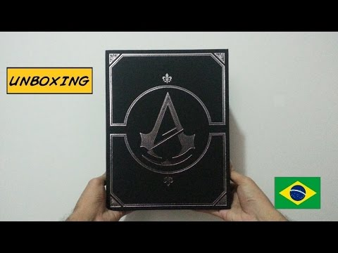 [Unboxing] Assassin's Creed Unity: Prima Official Initiate Edition PT-BR
