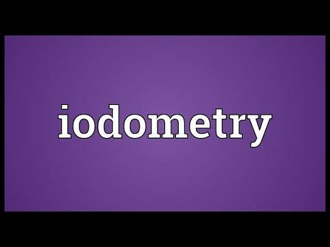 Header of iodometry