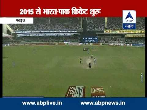 ABP Live: India - Pakistan to play bilateral cricket series