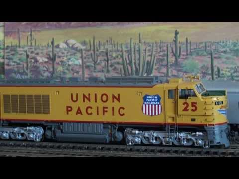 Union Pacific Ho scale Super Turbine Big Blow by Overland Models
