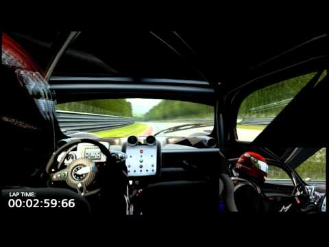 Nürburgring Nordschleife - Pagani Zonda R Real-Feel Stock Car Time Attack 6'47.04