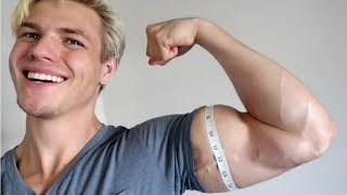 ARM WORKOUT FOR 18 INCH BICEPS!