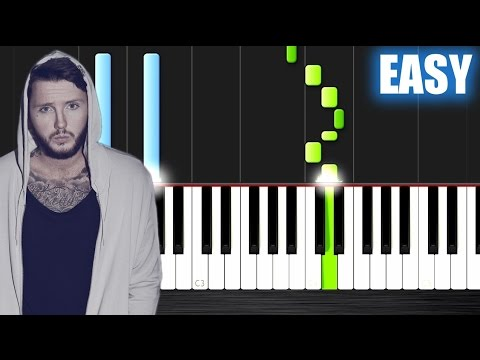 James Arthur - Say You Won't Let Go - EASY Piano Tutorial by PlutaX