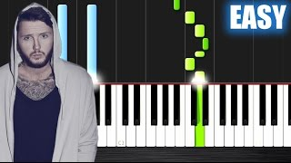 Download Lagu James Arthur - Say You Won't Let Go - EASY Piano Tutorial by PlutaX Gratis STAFABAND