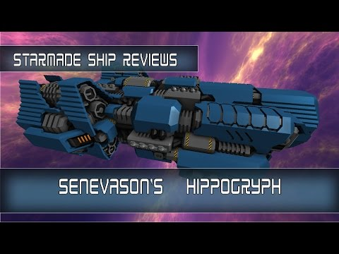 StarMade Ship Reviews: Hippogryph Light Cruiser