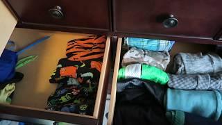 Kids Clothes Organization | Konmari Minimalism