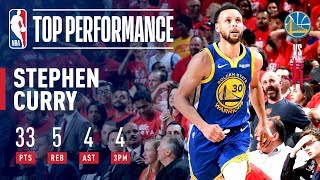 Stephen Curry's UNBELIEVABLE Game 6 Performance | May 10, 2019