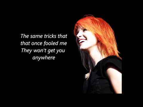 Ignorance - Paramore lyrics