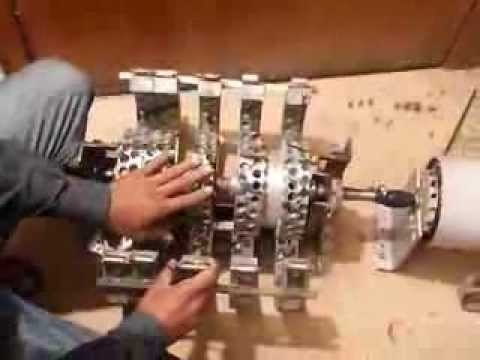Free Energy ??? - Fact Or Fake ? Wasif Kahloon Showing Selfrunning Magnet Motor